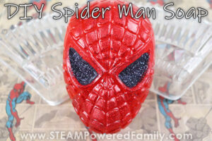 Spider Man Soaps Kids Can Make Zero Waste Crafting