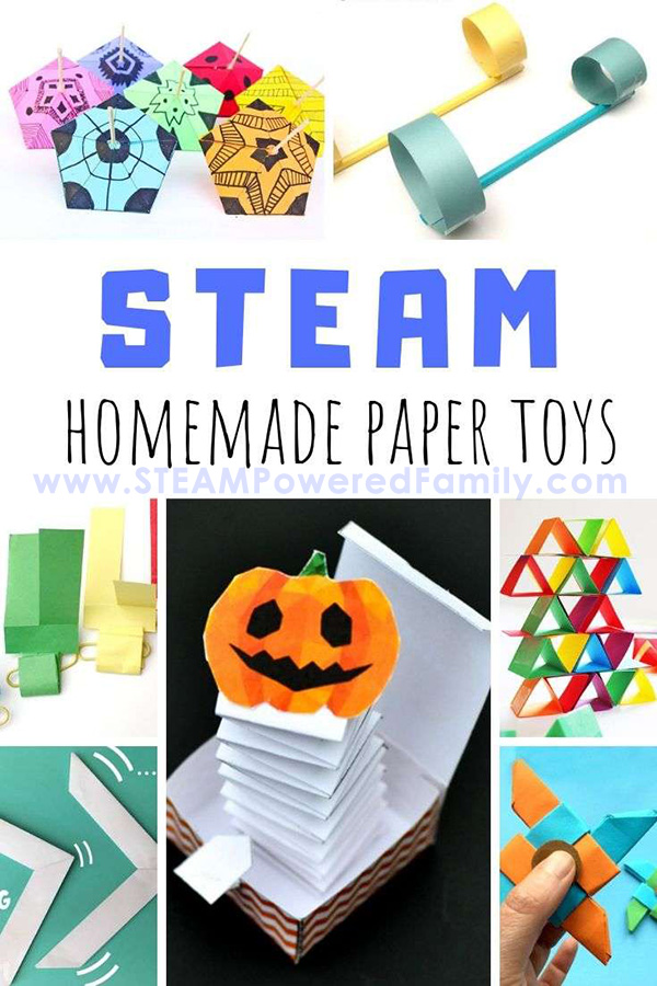 One of the most budget friendly ways to bring STEAM into your classroom is with paper projects. Learn how to make paper toys that will inspire your kids.