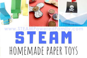 How to make paper toys budget friendly STEAM projects