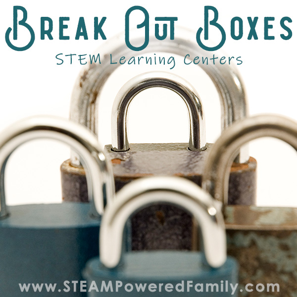 Locks close up, Break out boxes classroom learning centers