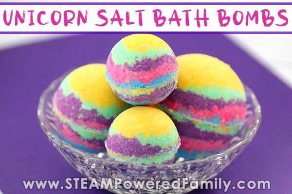 Mystical Rainbow Unicorn Bath Bombs