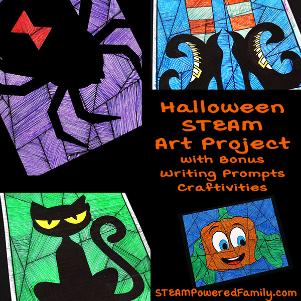 Halloween Art and Math Project for the Classroom