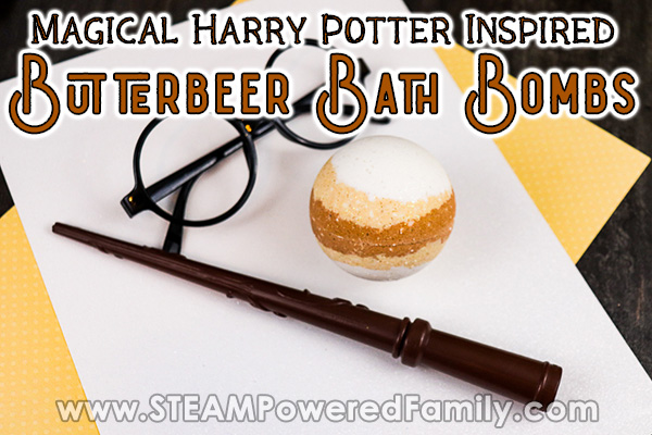 Harry Potter Butterbeer Bath Bombs