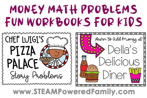 Money Math Skills Worksheets for Elementary