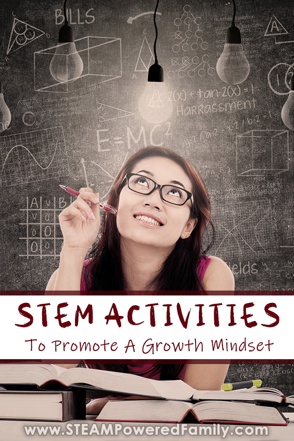 STEAM Activities that teach students about growth mindset