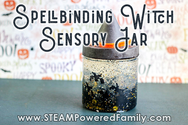 Spellbinding Witch Sensory Jar