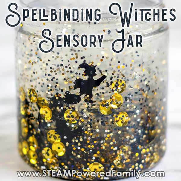 Magical and Spellbinding Witches Sensory Bottle