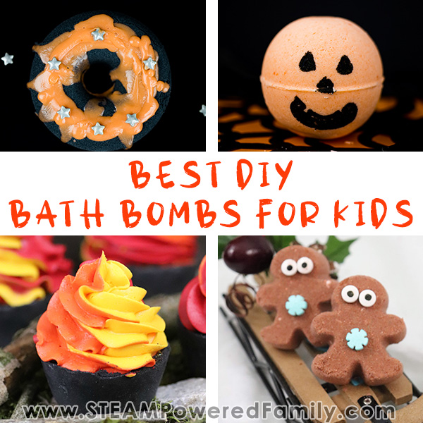 The best DIY bath bombs for Kids