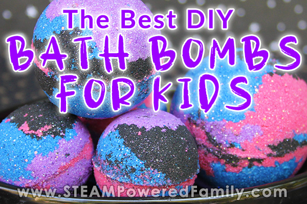 The Best Homemade Bath Bombs For Kids