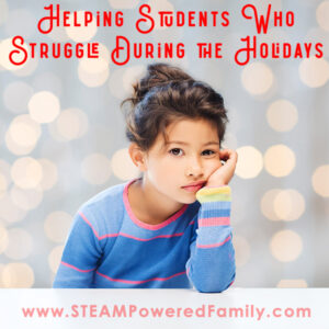 Helping students who struggle during the holidays