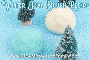 Winter Play Dough Recipe