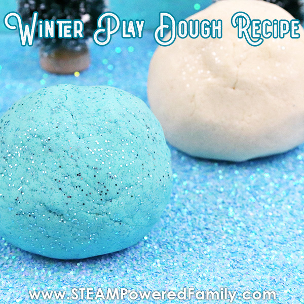 Winter Wonderland Play Dough