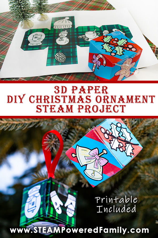 Christmas Ornament STEAM Project for Kids