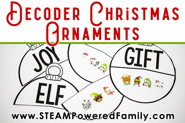 Christmas Decoder Ornaments Activity