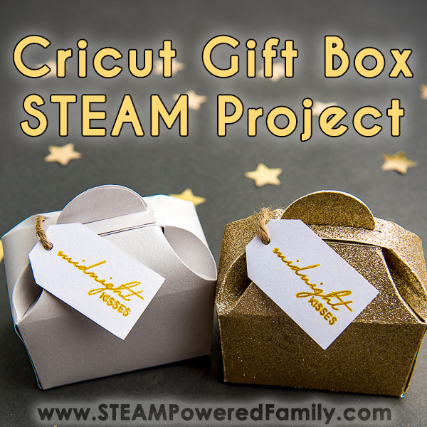 Cricut Project Idea Gift Boxes