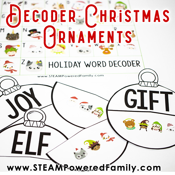 Decoder Christmas Ornament