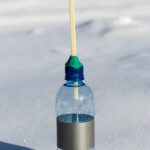 How to make a special bubble blower for frozen bubbles