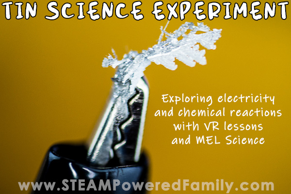 Tin Science Experiment from MEL Science
