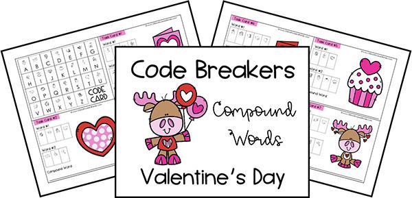 Valentines Day Code Breakers Printable