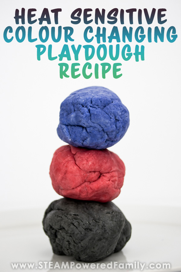 Colour Changing Playdough