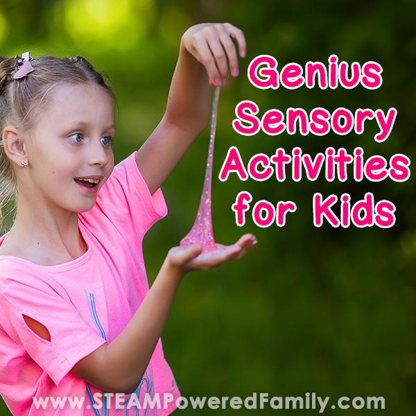Genius Sensory Activities for Kids