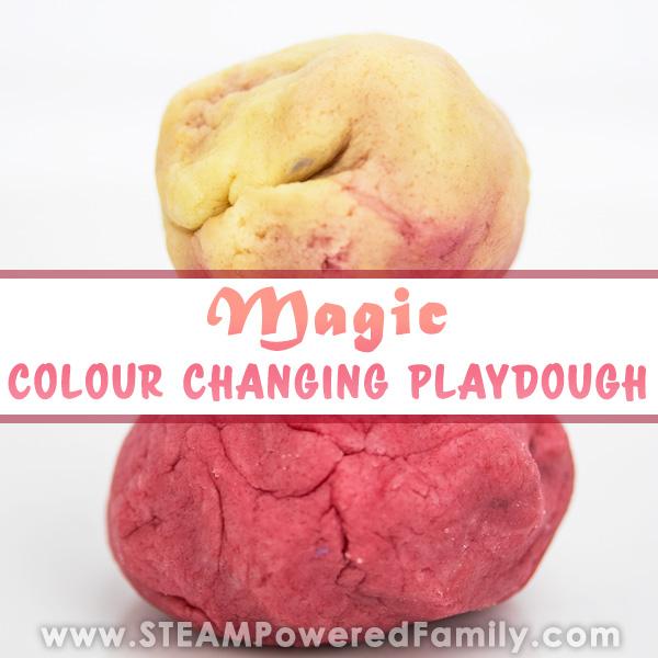 Magic Colour Changing Playdough