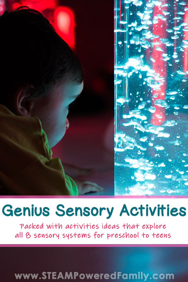 Genius Sensory Activities for all ages