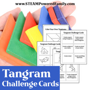 Tangram Printable for STEM Learning