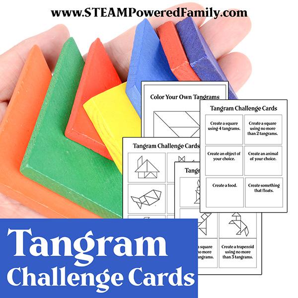 Tangram Printable for STEM Learning