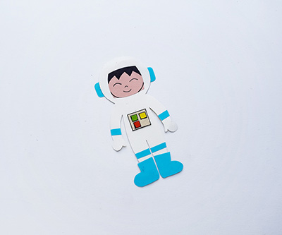 Space Puppet Craft