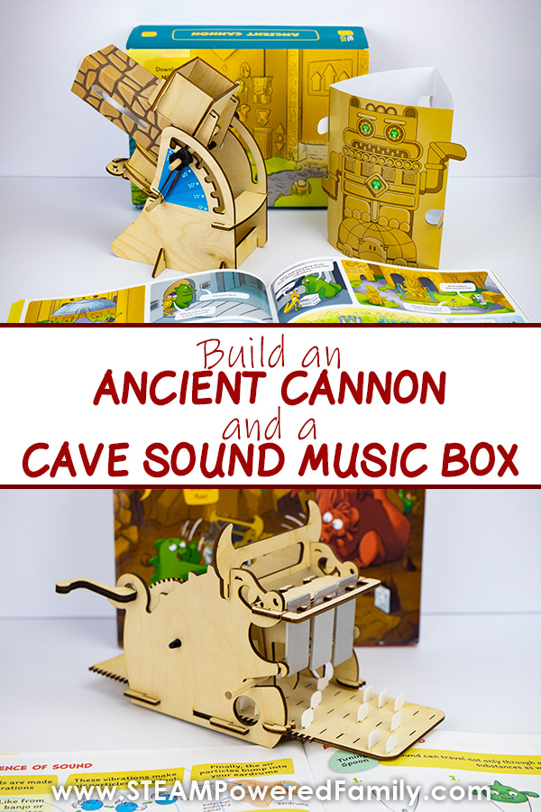 Build a Cannon and a Music Box with easy and fun MEL Kids Science Kits