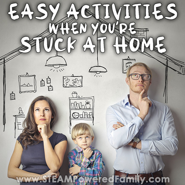 Easy activities and experiments to do at home