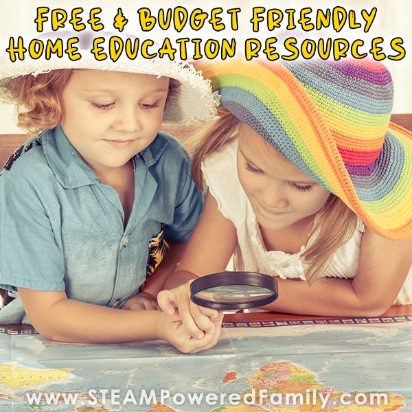Free Homeschool Education Resources