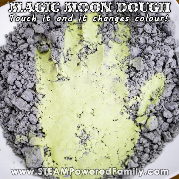 Magic Moon Dough that Changes Colour as you play