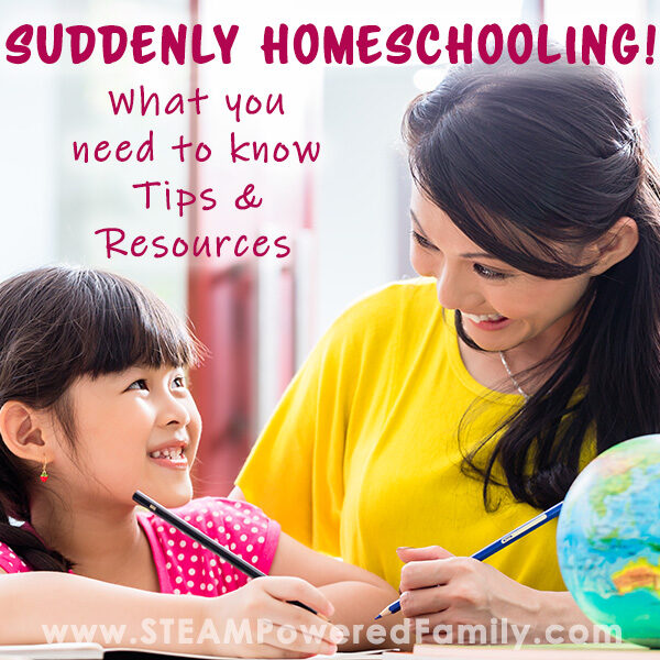 Suddenly Homeschooling Tips and Resources
