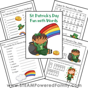 St. Patrick's Day Literacy Printable