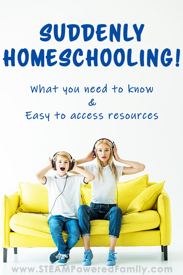 Suddenly Homeschooling? Learn more to set your kids up for success!