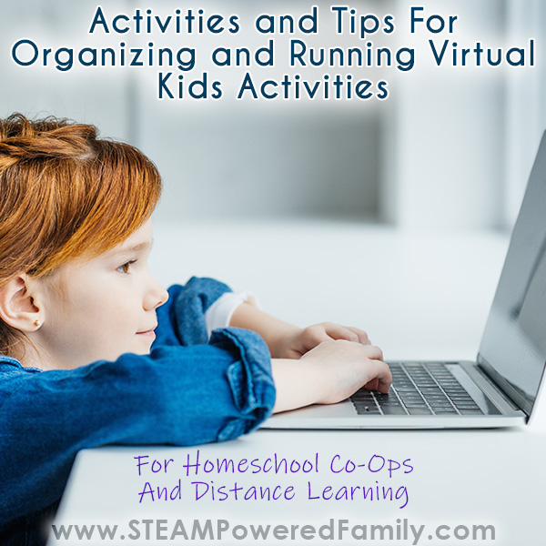 Virtual Kids Activities Guide for Organizers