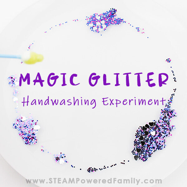 Magic Glitter Handwashing Demonstration
