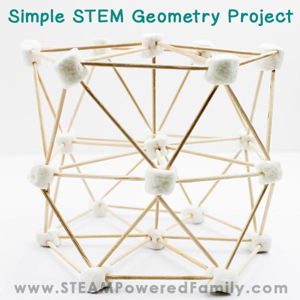 Marshmallow Geometry STEM Challenge