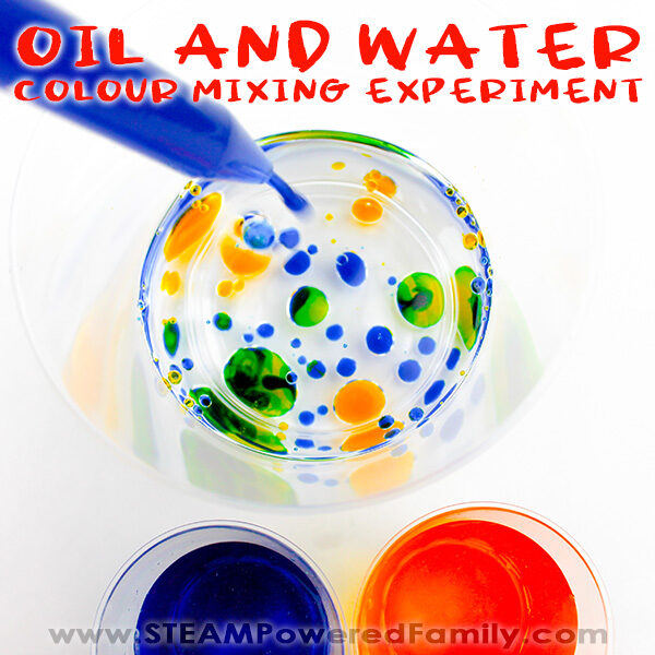 oil and water experiment
