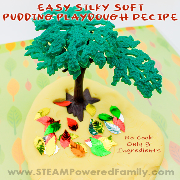 Pudding Playdough No Cook Recipe