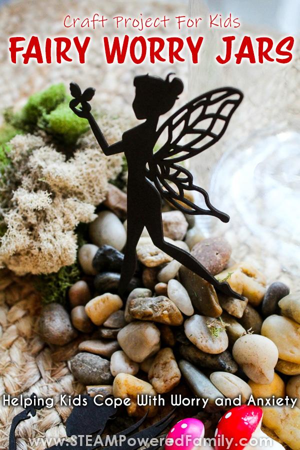 DIY Fairy Worry Jar