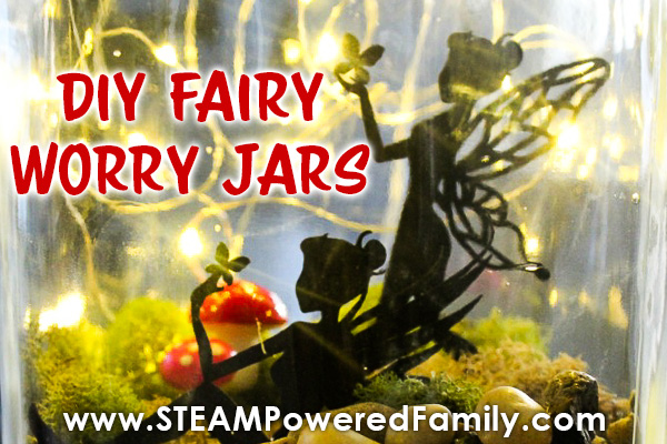Fairy Worry Jar for Kids Struggling With Anxiety