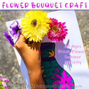 Fresh Flower Bouquet Craft