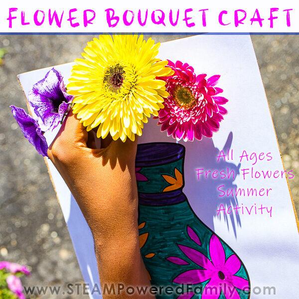 Fresh Flower Bouquet Craft
