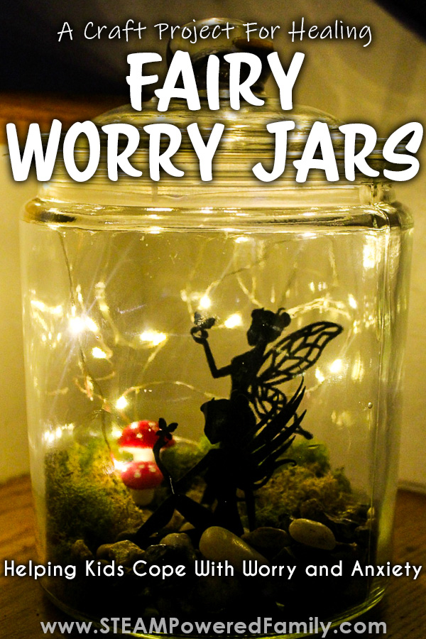 Fairy Worry Jar Craft Project