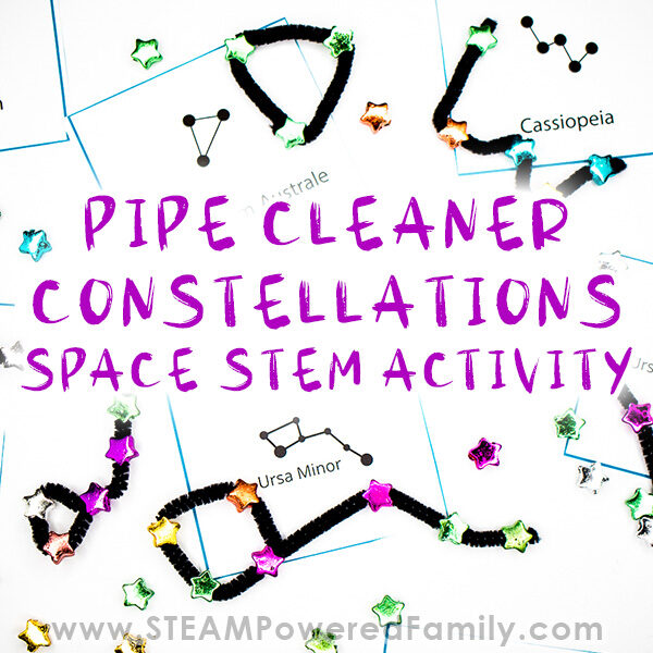 Pipe Cleaner Constellations Space STEM Activity