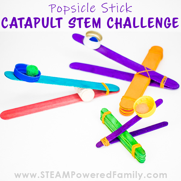 Catapults engineered from popsicle sticks