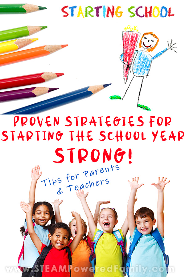 Proven Strategies for Starting the School Year Strong